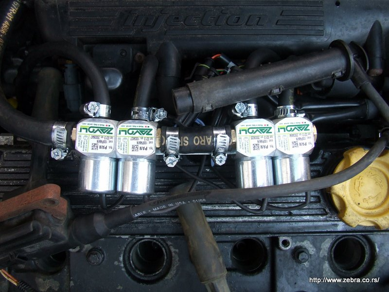 Montaza auto gasa 1